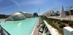 Wat een geweldig complex: het Ciudad de las Artes y las Ciencias.