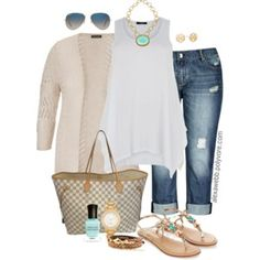 Plus Size - Casual Look