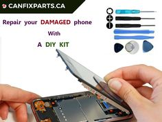 Easy way to #repair your damaged #phone with help a #DIY kit. Reach us at +1 647-860-2271/604-721-8495 or visit http://ow.ly/yCLJ30fXyBD
