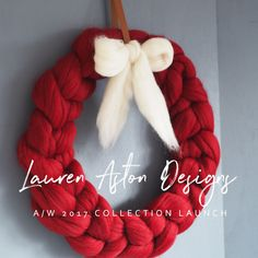 The New Chunky knit collection by Lauren Aston Designs is (finally) here. There's Chunky Knit Christmas Wreaths, brand new Jumbo yarn and a santa hat pattern to enjoy for yearsNew Collection Launch