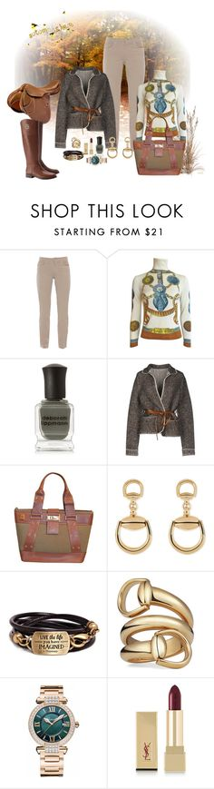 """""""Fall Sweater"""" by deborah-518 ❤ liked on Polyvore featuring Fabrizio Gianni, Deborah Lippmann, Maison Ullens, Christian Dior, Gucci, Chopard, Yves Saint Laurent and Tory Burch"""
