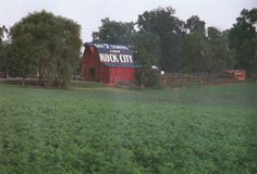 If you have driven through the South, chances are you have seen these famous barns with the Rock City logo! Come visit Rock City on Lookout Mountain; it's very unique:)