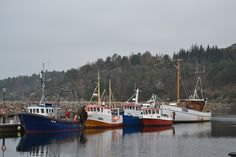 Fishing boats docking at Båly, Lindesnes in Southern Norway. Hope the got some delicious seafood.   Photo: Elisabeth Høibo©Visit Southern Norway
