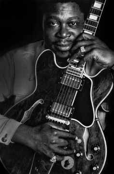 Portrait of musician B.B. King in 1972. -- I never got to see him Live, like I wanted.