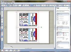 FREE DiY day: printable train ticket invitations   Parties ...