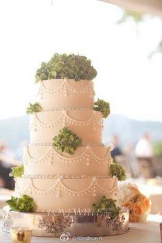Wedding Cake - California Weddings: http://www.pinterest.com/fresnoweddings/