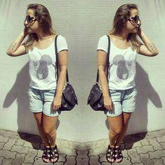 """Para um domingo fresquinho! #dodia #dujour #myfashiondiary #fuiassim #lookdodiabrasil #blogueirascariocas #fashionblogger #lookdodia #ootd #wiwt…"""