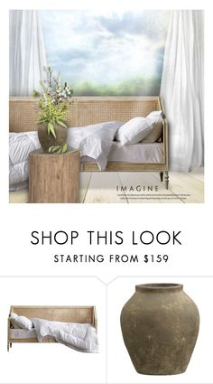 """""""Spring Bouquet"""" by debraelizabeth ❤ liked on Polyvore featuring interior, interiors, interior design, home, home decor, interior decorating, Edgewater, Crate and Barrel and Elodie"""