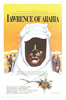 Lawrence of Arabia is a 1962 British epic film based on the life of T. E. Lawrence. It was directed by David Lean and produced by Sam Spiegel through his British company, Horizon Pictures, with the screenplay by Robert Bolt and Michael Wilson. The film stars Peter O'Toole in the title role. It is widely considered one of the greatest and most influential films in the history of cinema.
