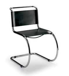 Another fine cantilever chair, this one from Mies van der Rohe.