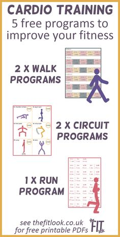 Get a cardio workout at home. 5 free printable workouts to help you improve your aerobic fitness. Cardio training benefits include heart health, weight control, mental health, agility and flexibility. All you need to do these workouts is comfortable clothing and trainers/suitable walking shoes. #cardio #aerobicworkout #freeprintable #healthyliving