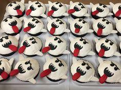 Luigi's Mansion King Boo Cupcakes