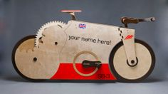 The World Fastest 100% Wooden Bicycle!