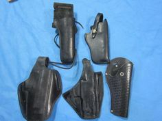 Leather Holster Assortment - Lot 3 #Various