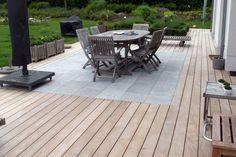 Patio Tiles, Outdoor Tiles, Concrete Patio, Outdoor Decor, Swimming Pools Backyard, Fire Pit Backyard, Modern Patio Design, Wooden Flooring, Garden Projects