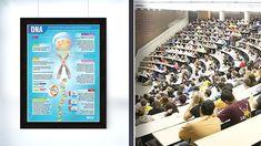 Bilimsel poster, bilimsel bir çalışmanın sonuçlarını görsel unsurlarla destekleyerek özetleyen bir sunum aracıdır.  Poster sunumu, araştırmacıların bilgi birikimlerinin, tecrübelerinin, araştırma sonuçlarını diğer meslektaşları ile şematik olarak paylaşılmasını sağlayan pratik bir yöntemdir.  Genellikle bilimsel posterlerde kullanılan ölçü 70x100 cm'dir. Bu sebeple sizlerde bastırgelsin.com online editöründe tasarıma başlamadan önce 70x100 ölçüsünü seçmelisiniz. Canvas Poster, Dna, Gout