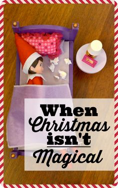 """Christmas CAN be the most wonderful time of year, but sometimes it's just not. If you find yourself cracking under the pressure of the """"perfect"""" Christmas, take solace in knowing that you're not alone."""