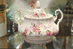 Vintage Sugar Bowl Royal Albert Lavender by PattysPorcelainEtc