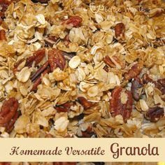Easy & Versatile Homemade Granola by Coffee With Us 3