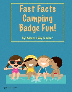 This packet is perfect for students who need to work on their addition and subtraction fact fluency. This packet makes practicing fun and exciting!This packet includes:*10 leveled fact fluency pages (addition and subtraction)-The facts get more challenging as the levels increase.*Badges-Students can earn different camping badges as they complete the levels.*Badge Sheet-This sheet is where students can glue their badges and keep track of where they are.