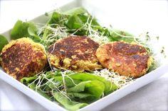 Falafel Spinach Salad