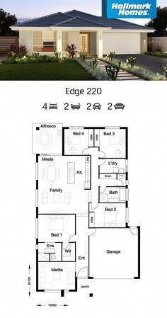 Maison de luxe #Villamoderne   Villa moderne   House plans, House ...