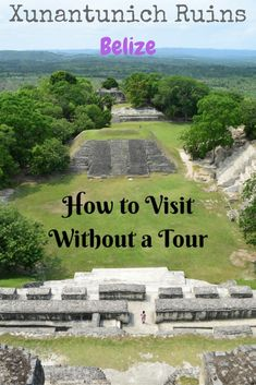 Xunantunich is an ancient Maya archaeological site located 12 km west of San Ignacio. There's no need to take a tour - we'll show you how to get there by bus!   Xunantunich stands on a hilltop, with views to nearby Guatemala. There are 5 plazas on site,wh