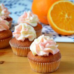 Babeczki pomaranczowo migdałowe / Orange almond cupcakes / ciastkozercy