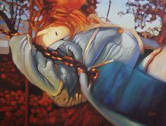 "Swing Shift, 36"" X 48"", oil on canvas, original art sold"