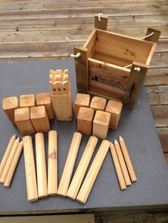 KUBB game                                                                                                                                                                                 More