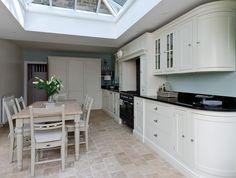 Roof lantern extension, Royal Kensington Kitchens & Neptune.