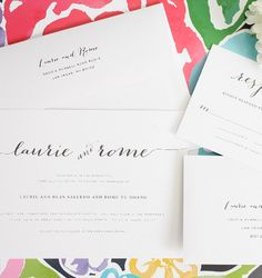 Rustic Wedding Invitations. I'm in love with the gorgeous hand drawn calligraphy!  #rusticweddinginvitations #rusticwedding #calligraphy #shineweddinginvitations