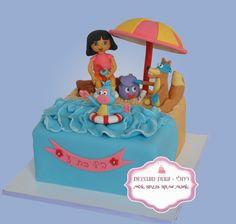 cute dora cake