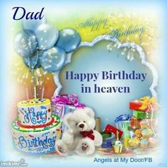 Birthday Dad In Heaven Quotes