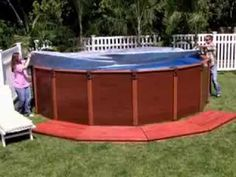 INTEX WOOD GRAIN FRAME POOLS PHILIPPINES - YouTube