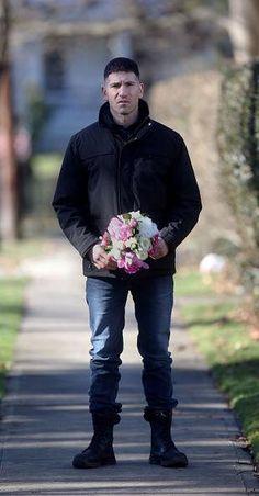 Jon Bernthal como Frank Castle en la serie The punisher de #Netflix