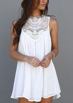 6fb6249004a 50+ Cute Summer Outfits Ideas For Teens - Fashiotopia White Summer Dresses