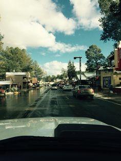 Ruidoso NM. Downtown