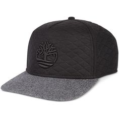 9b0bd724b59 Timberland Men s Quilted Baseball Cap ( 30) ❤ liked on Polyvore featuring  men s fashion