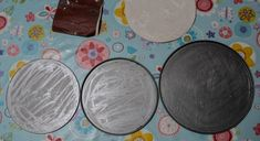 scratched cake tin bases of Cake Tins, Of Wallpaper, Upcycled Furniture, Baking Pans, Floating Shelves, Repurposed, Recycling, Cake Boxes, Wall Shelves