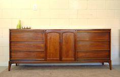 Mid Century Modern Vintage Dresser/Credenza by ModCenturyVintage, $695.00
