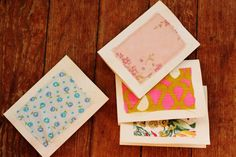 diy stationery. write more letters