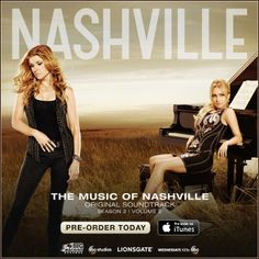 Pre-order Nashville: Season 2 Volume 2 now! While you're at it, make sure to download The Nashville Cast featuring Clare Bowen as Scarlett O'Connor AND Nashville: On The Record! Want to watch it before you buy it? You're in luck! Tune-in to ABC tomorrow night (4/23) at 10:00pm EST and watch the Nashville cast sing all your favorite songs Visit iTunes today: https://itunes.apple.com/WebObjects/MZStore.woa/wa/viewMultiRoom?cc=us&fcId=569577411&at=11lEW&ct=smartURL%7Cdchqi8%7C2014-04-22