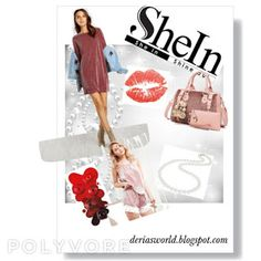 Shein 2018 Promotions-Deria' s Choices Get The Look, Choices, Promotion, Group, Board, Style, Fashion, Swag, Moda