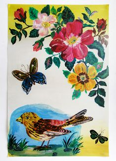 Nathalie Lete birds and butterflies and general awesomeness.