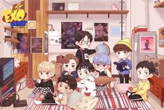 Find images and videos about kpop, exo and fanart on We Heart It - the app to get lost in what you love. Exo Xiumin, Kpop Exo, Exo Kai, Exo Cartoon, Chibi, Exo Stickers, Exo Anime, Exo Fan Art, Exo Lockscreen