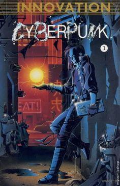 "Innovation's shitty ""Cyberpunk"" comic."