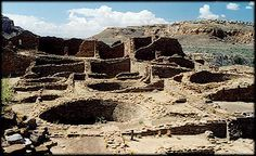 Chaco Canyon - New Mexico