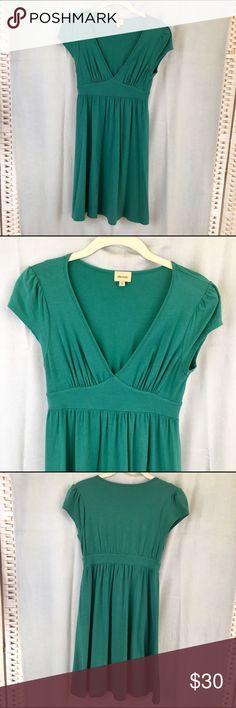 "Ella Moss Cotton Dress Easy breezy summer cotton dress. Length from shoulder 33"". Underarm to underarm 15"". Waist at bodied 24"". V-neck. Cap sleeve. Worn once EUC. Ella Moss Dresses"
