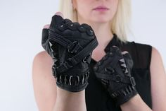 Fury Road Riding Gloves by JungleTribe on Etsy
